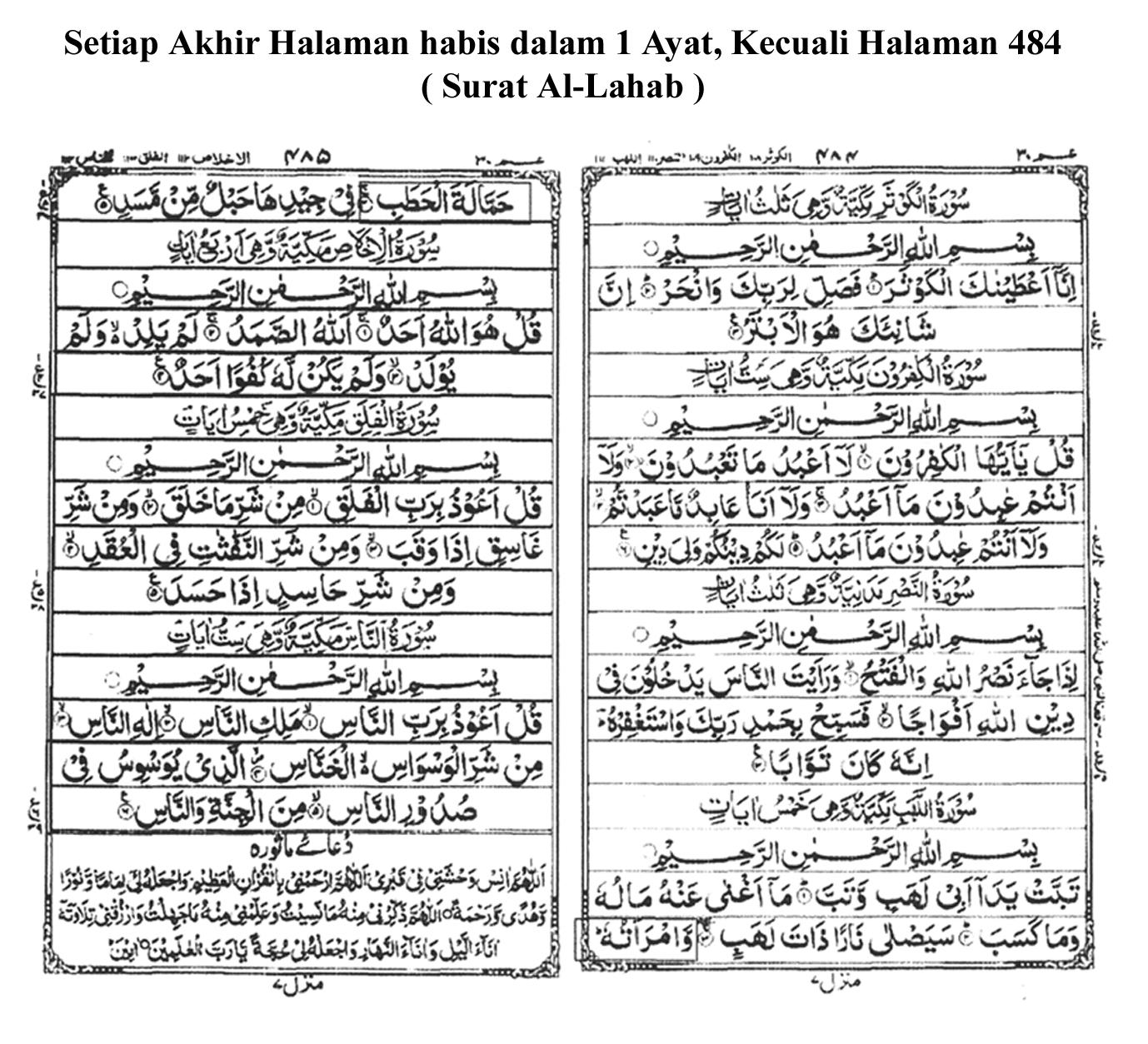 Al Quran Mushaf Utsmani Format 18 Baris